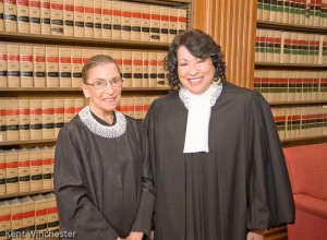 Justices Ginsburg and Sotomayor