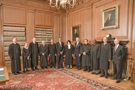 The Justices with Various Supernumeraries